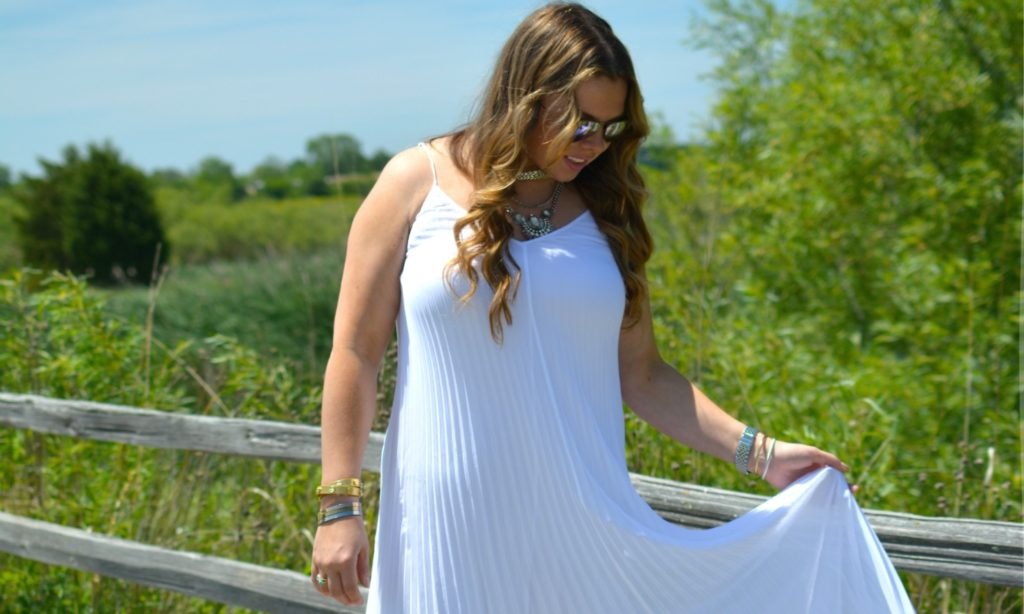 Pleated Maxi + Happiness Boutique