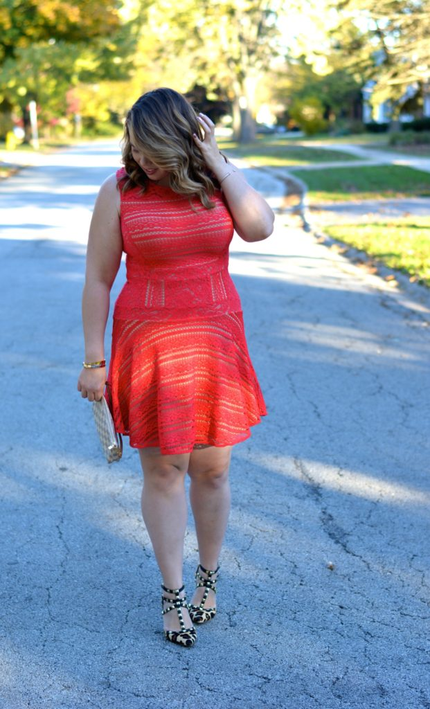 red lace dress 3