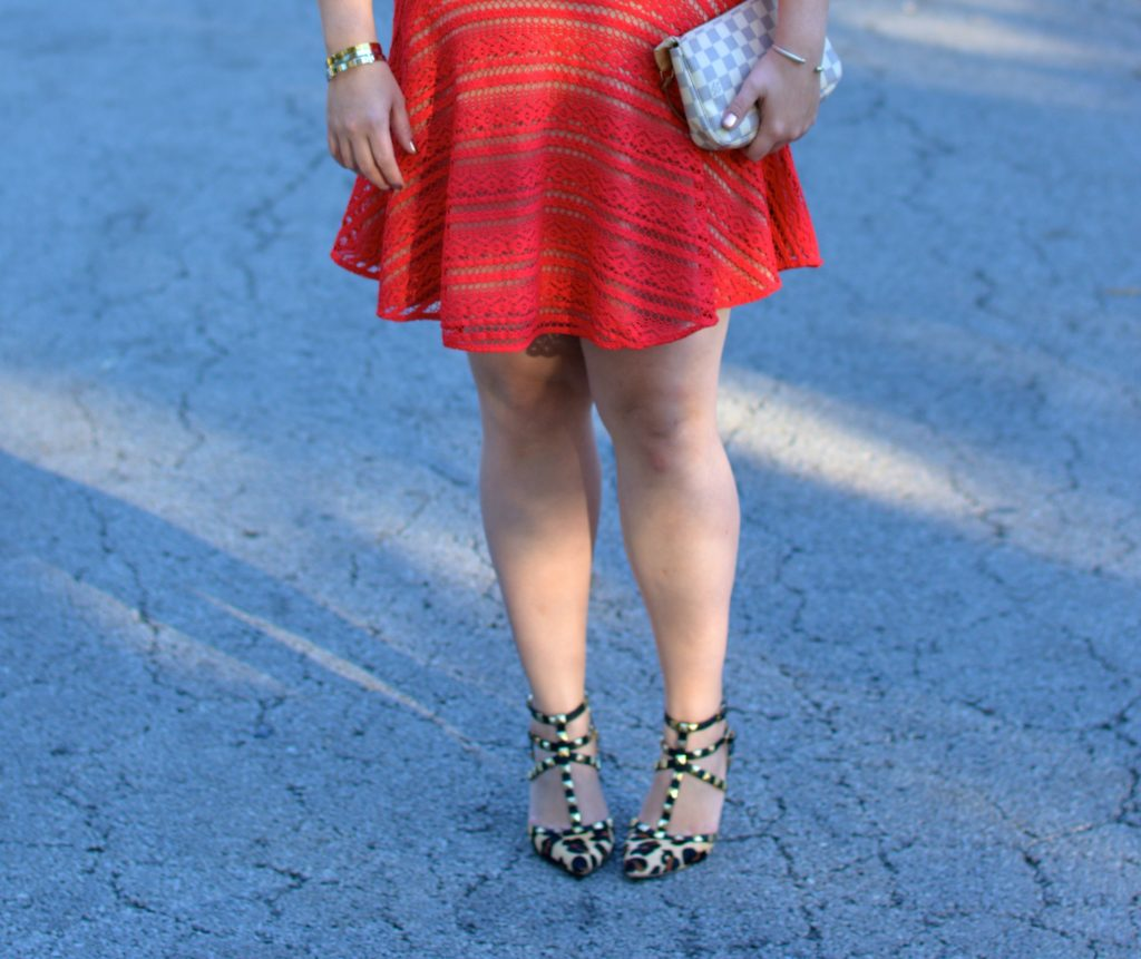 red lace dress 5