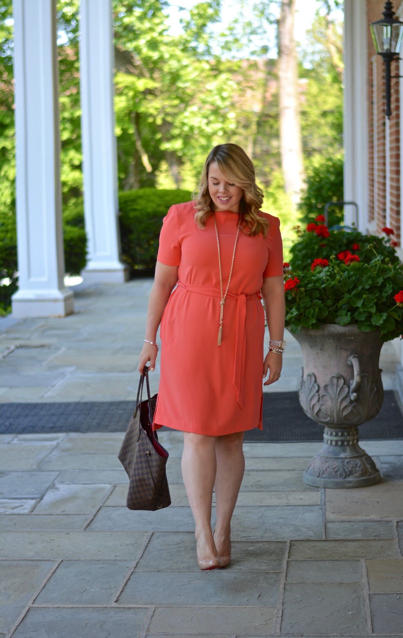 workwear wednesday- belted dress