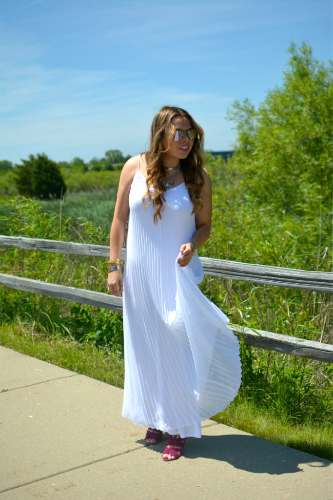 pleated maxi + Happiness boutique 3