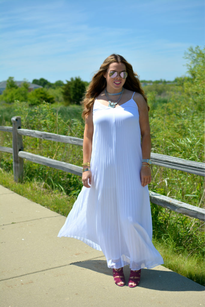 pleated maxi + Happiness boutique 4