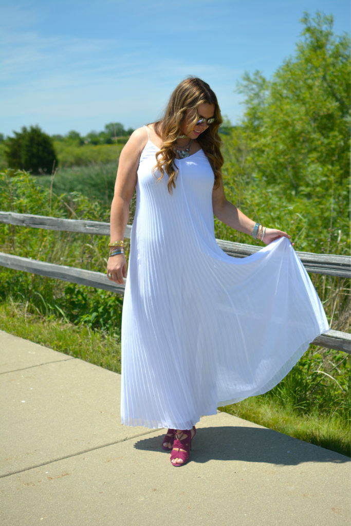pleated maxi + Happiness boutique 5
