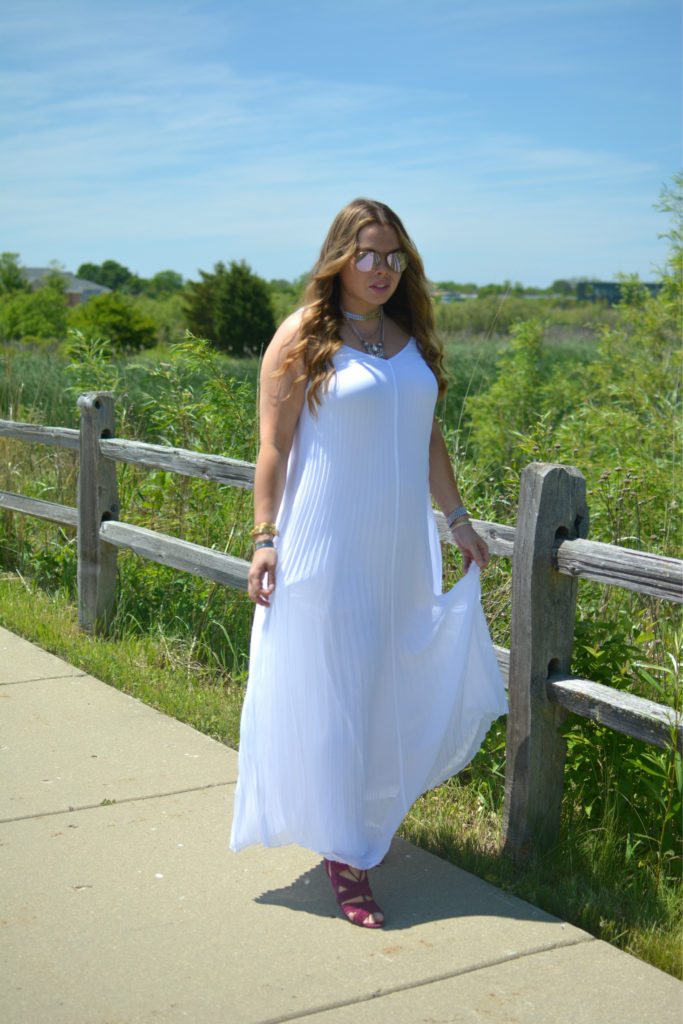 pleated maxi + Happiness boutique 6