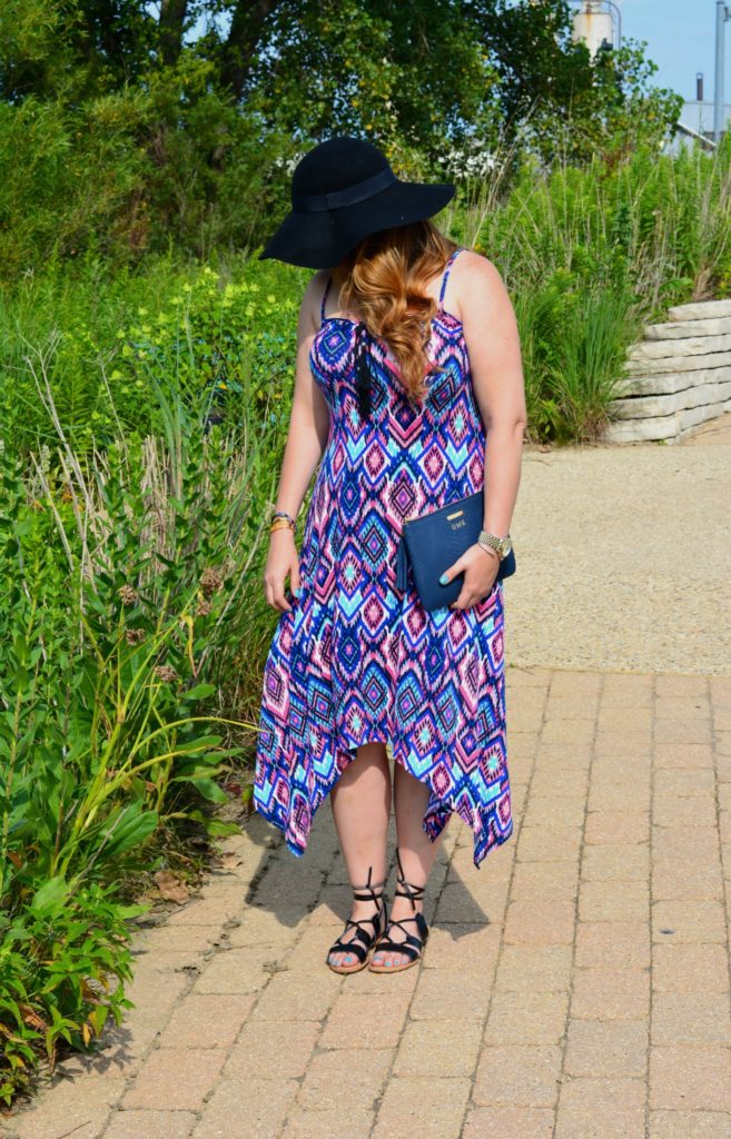 tassel tie dress ft. groopdealz 5