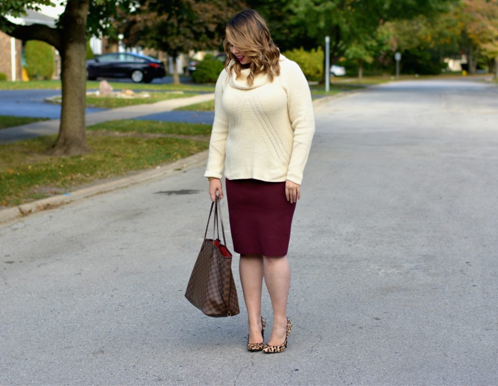 workwear wednesday- turtleneck & skirt 2 - Version 2