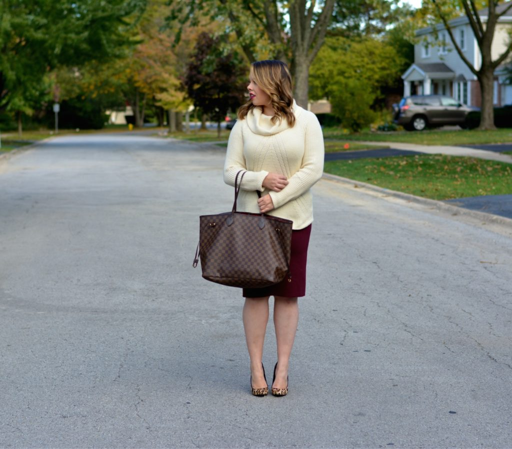 workwear wednesday- turtleneck & skirt 6