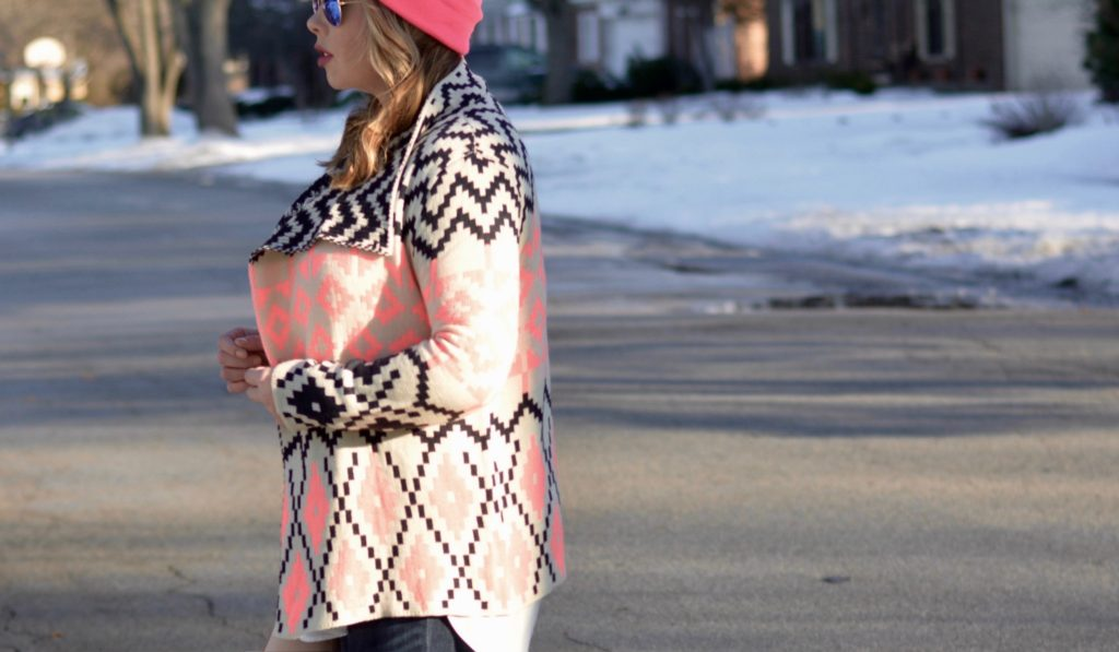 aztec draped sweater 6