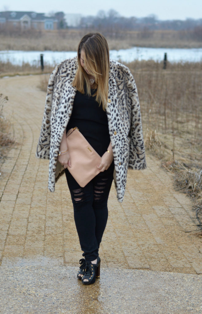 leopard faux fur coat 4