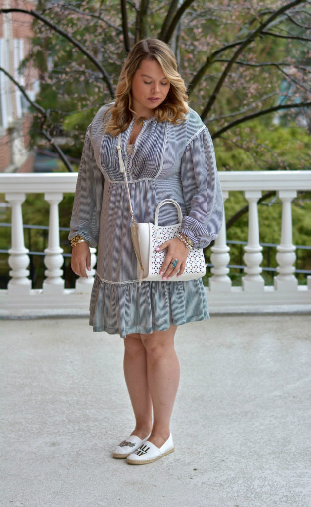 pinstripe shirtdress 6
