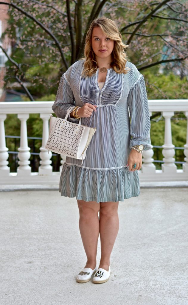 pinstripe shirtdress 7