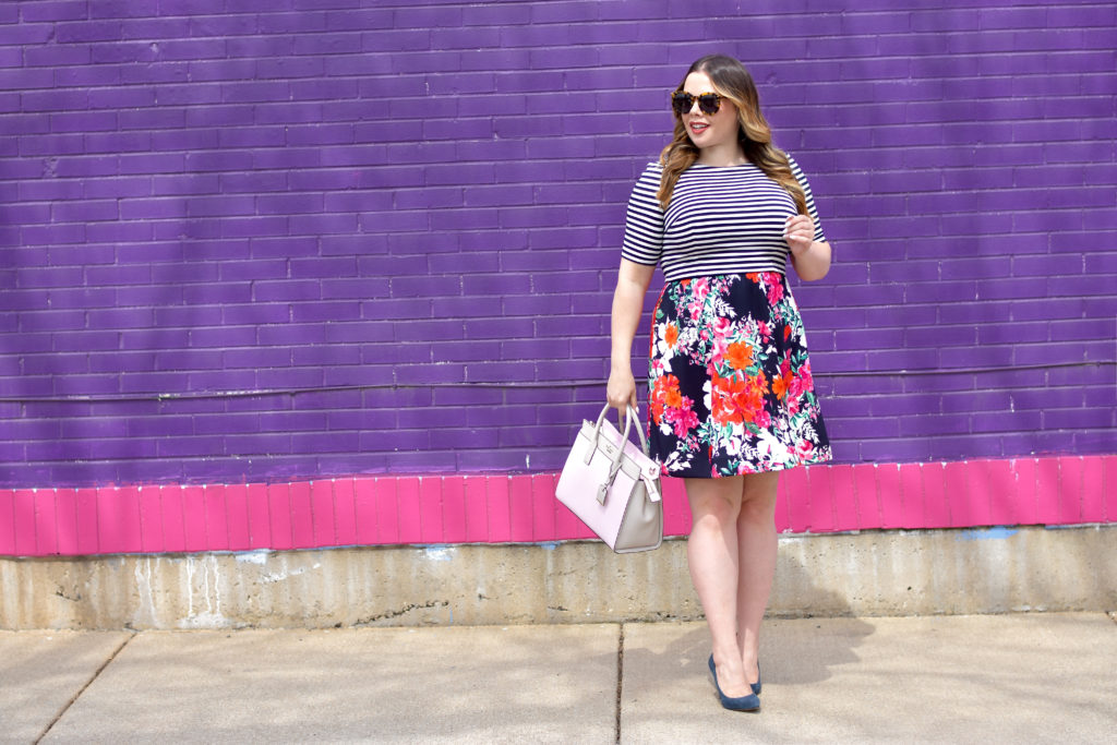 Workwear Wednesday: Florals & Stripes