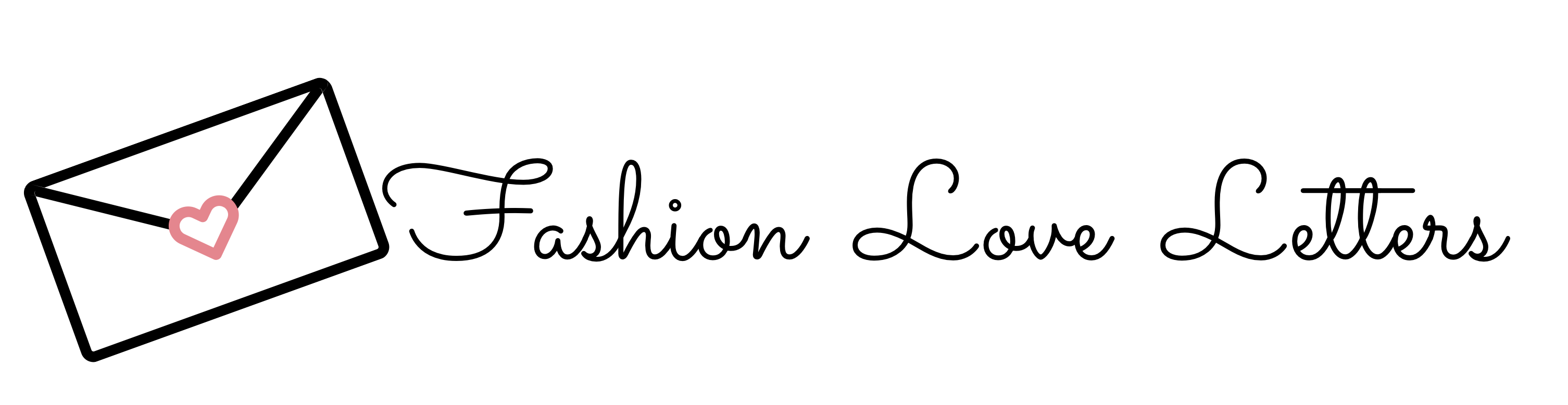 Fashion Love Letters